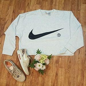 VNGT VIBES Nike Crop top Crewneck sweatshirt L